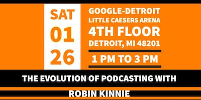 The Evolution of Podcasting with Robin Kinnie
