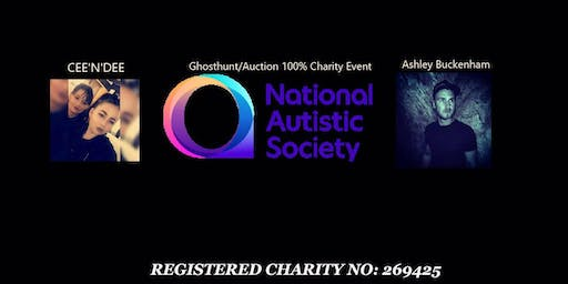 charity ghost hunt with cee'n'dee & ashley buckenham for charity