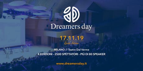 Dreamers Day 2019 tickets