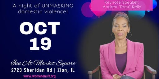 Women Enuff, Inc's 4th Annual Unmask The Violence Masquerade!