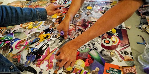 Artist Mixer: Community Collage with Art Attack SF