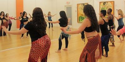 Intermediate Belly Dance Class: Oriental Technique (12pm) | Belly Motions World Dance Studio