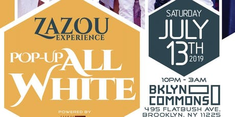 Zazou Experience Pop-Up All White Party tickets