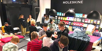 Artist Mixer: Figure Drawing with Moleskine SF