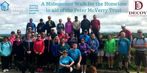 The Third Midsummer Walk for the Homeless