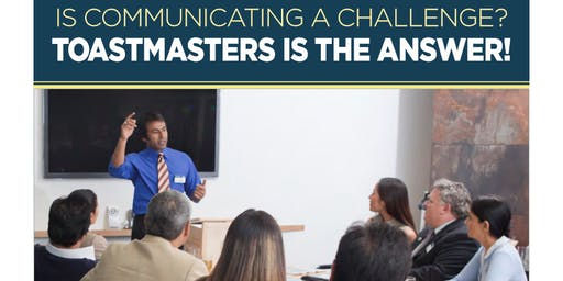 Toastmasters - Learn Public Speaking - Find your Voice!