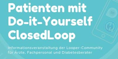 Diabetes-Patienten mit  Do-it-Yourself ClosedLoop
