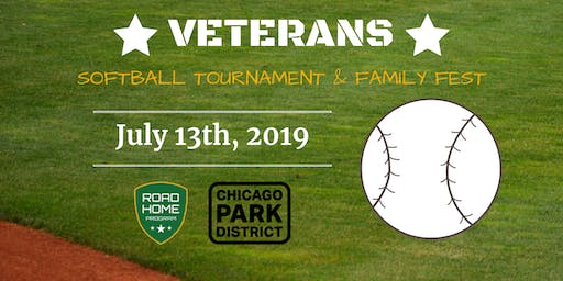 Veterans Softball Tournament & Family Fest 2019