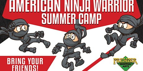 American Ninja Warrior Summer Camp tickets