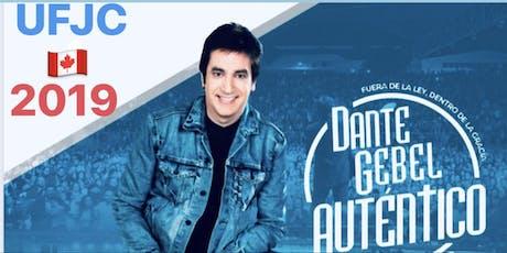 Dante Gebel/Montreal Canada UFJC2019  tickets
