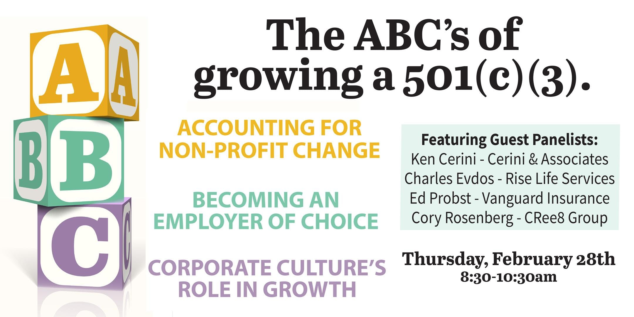 The ABC's of Growing Your 501(C)(3)