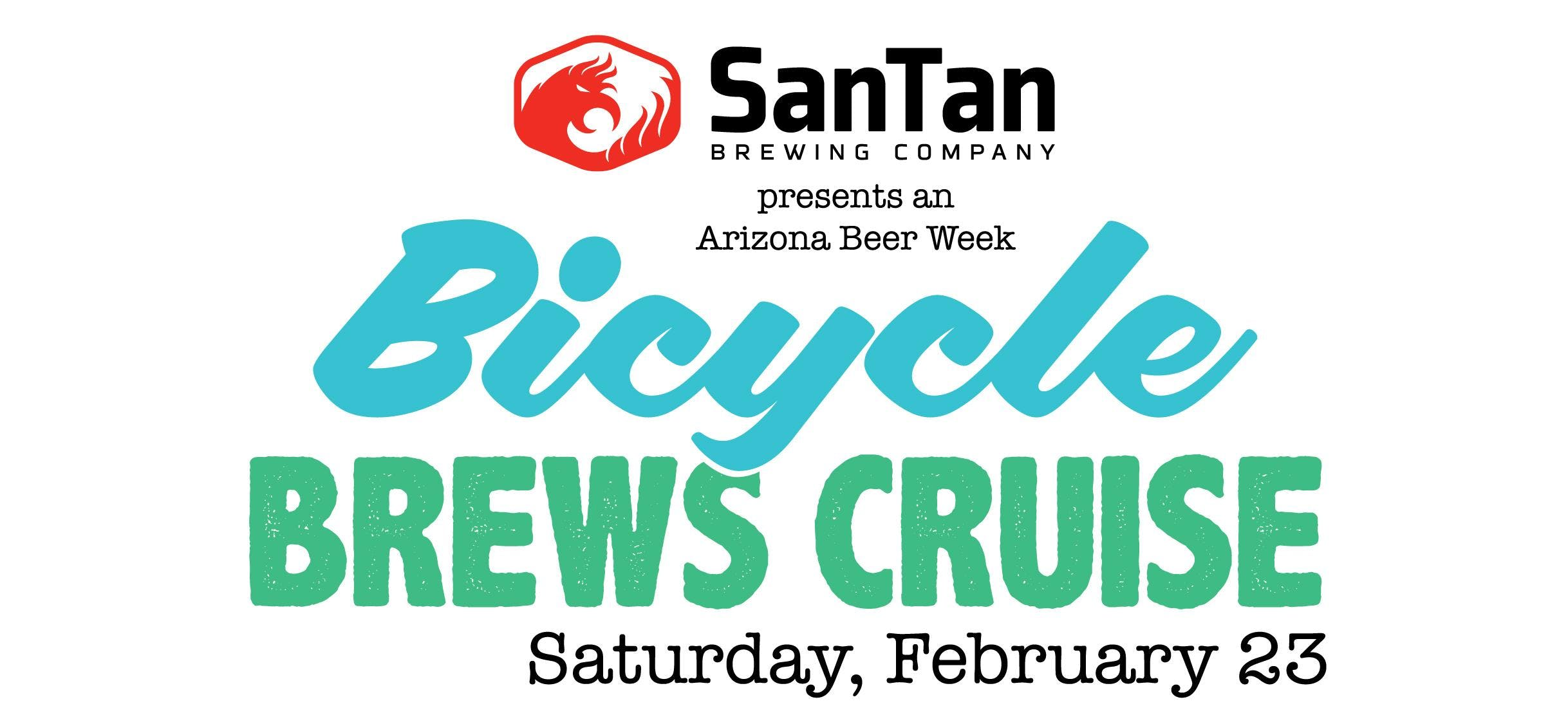 Bicycle Brews Cruise 2019 • Hosted by SanTan Brewing