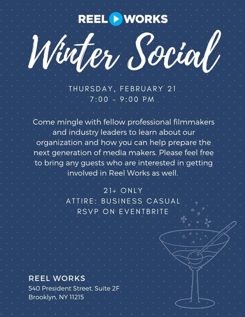 Reel Works' Winter Social