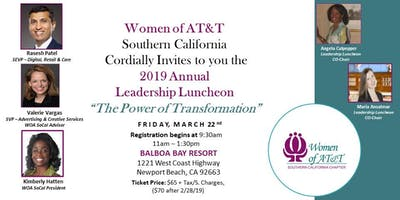 Women of AT&T Southern California 2019 Annual Leadership Luncheon