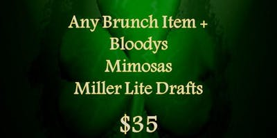 Racine Plumbing St. Patrick's Day Brunch Package 2019