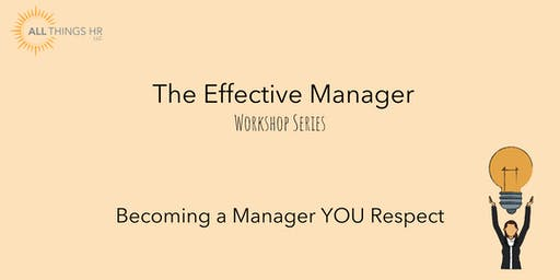 Becoming a Manager YOU Respect
