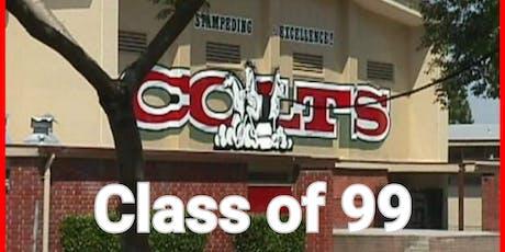 Covina High Class of 1999 20yr Reunion tickets