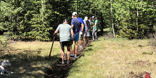 2020 HPRS Trail Work Day #1