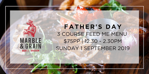 Father's Day at Marble & Grain
