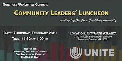 Norcross/Peachtree Corners Community Leaders Luncheon