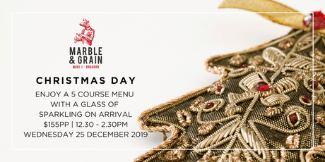 Christmas Day at Marble & Grain tickets