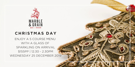 Christmas Day at Marble & Grain