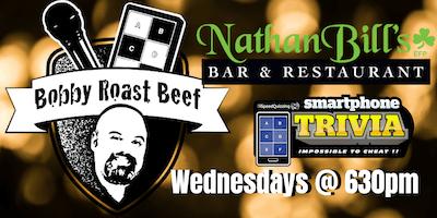 Smartphone Trivia Wednesdays w/ Bobby Roast Beef