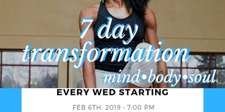 7 Day Transformation Bootcamp tickets