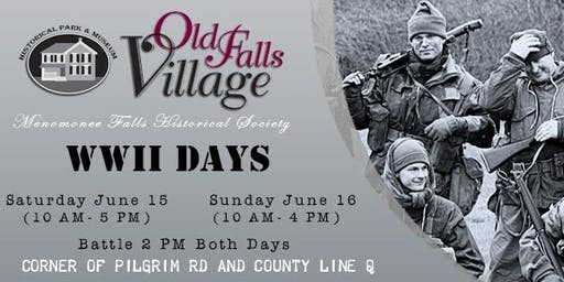 WWII Days at Old Falls Village