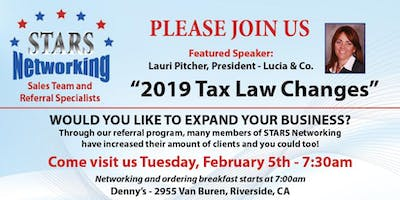 Please Join Us - 2019 Tax Law Changes