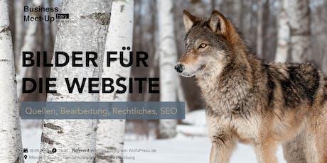 Bilder für die Website – Quellen, Bearbeitung, Rechtliches, SEO Tickets