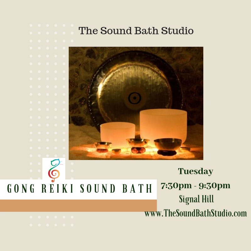 Gongs & Sound Bath * Recalibrate Your Body & Mind