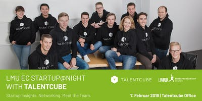 Startup@Night with Talentcube