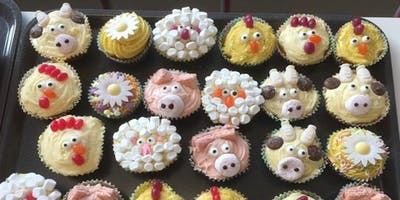 Animal Cupcake Decorating