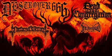 DESTROYER 666 + DEAD CONGREGATION at The Underworld, London tickets