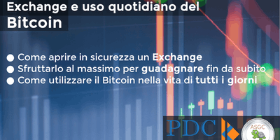 Exchange e uso quotidiano del Bitcoin