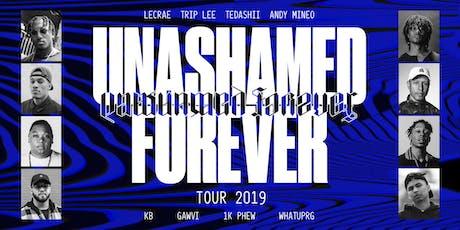Unashamed Forever Tour tickets