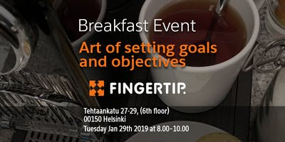 Breakfast Event - Art of setting goals and objectives