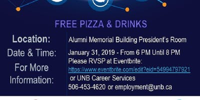 International Student wanting to live and work in Fredericton? Finding a Job in Fredericton: Info Session and Mock Interview Practice