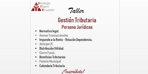 Gestión Tributaria - Personas Jurídicas