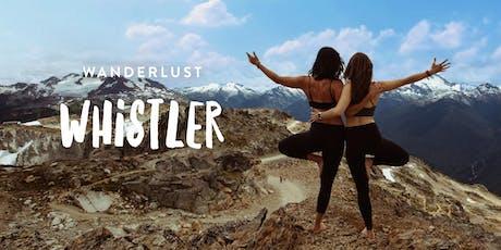 Wanderlust Whistler 2019 tickets