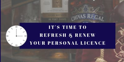 Personal Licence Refresher training - Oban