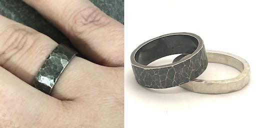 Chunky Silver Ring Workshop FULLY BOOKED!