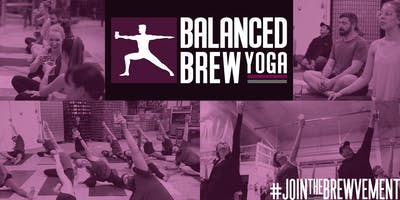 Yoga + Beer/Wine/Spirits     #JoinTheBrewvement
