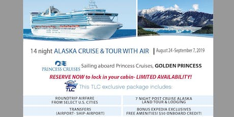 Explore the Last Frontier with this Alaska Cruise and Denali Land Tour tickets