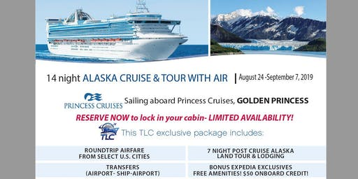 Explore the Last Frontier with this Alaska Cruise and Denali Land Tour