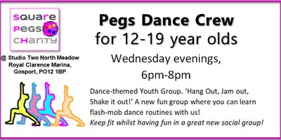 Pegs Dance Crew for 12-19 Year Olds [£2]
