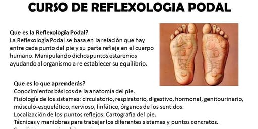 Curso de Reflexologia Podal