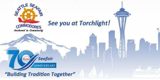 70th Anniversary Seafair Festival Torchlight Weekend Registration for July 26-28, 2019