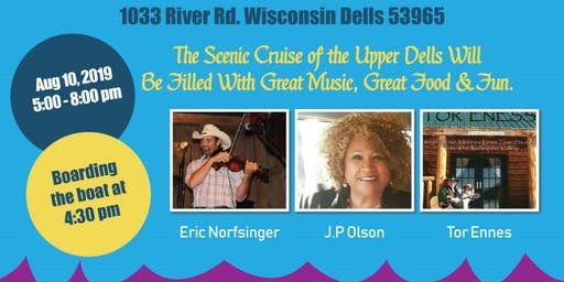 Music and Dinner Cruise With JP Olson